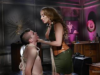 Trustfund Kid Gets Dominated by Fierce Curvy Goddess