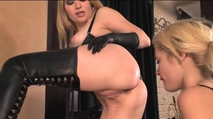 Wicked dominas torture their female slaves