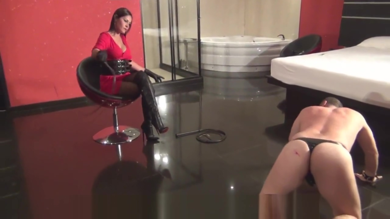 Latin Beauties In HighHeels - Diosa - A Lesson in Boot Domination