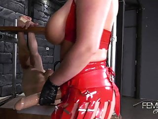 Femdom White Sodomized Ass Whore