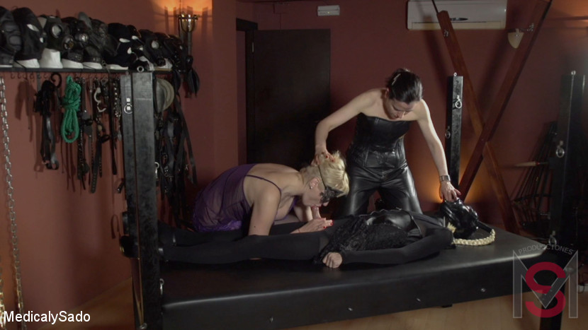 Patricia MedicalySado & Glitter Slut in Two Hot Submissives - KINK