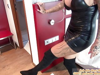 German Domina tattoo milf fetish userdate mouth dildo slave