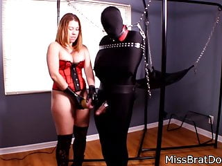 Edging Games with Bound Slave by MissBratDom