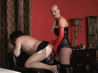 strap on domme