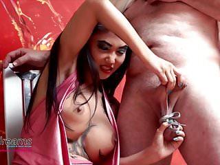 Kim XXX - Cruel Nuts Handjob