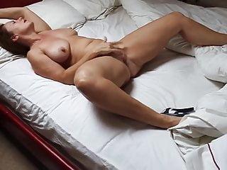 Hot Wife Masturbating . In Heels