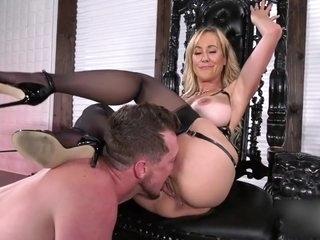 Brandi Love pussy lick femdom