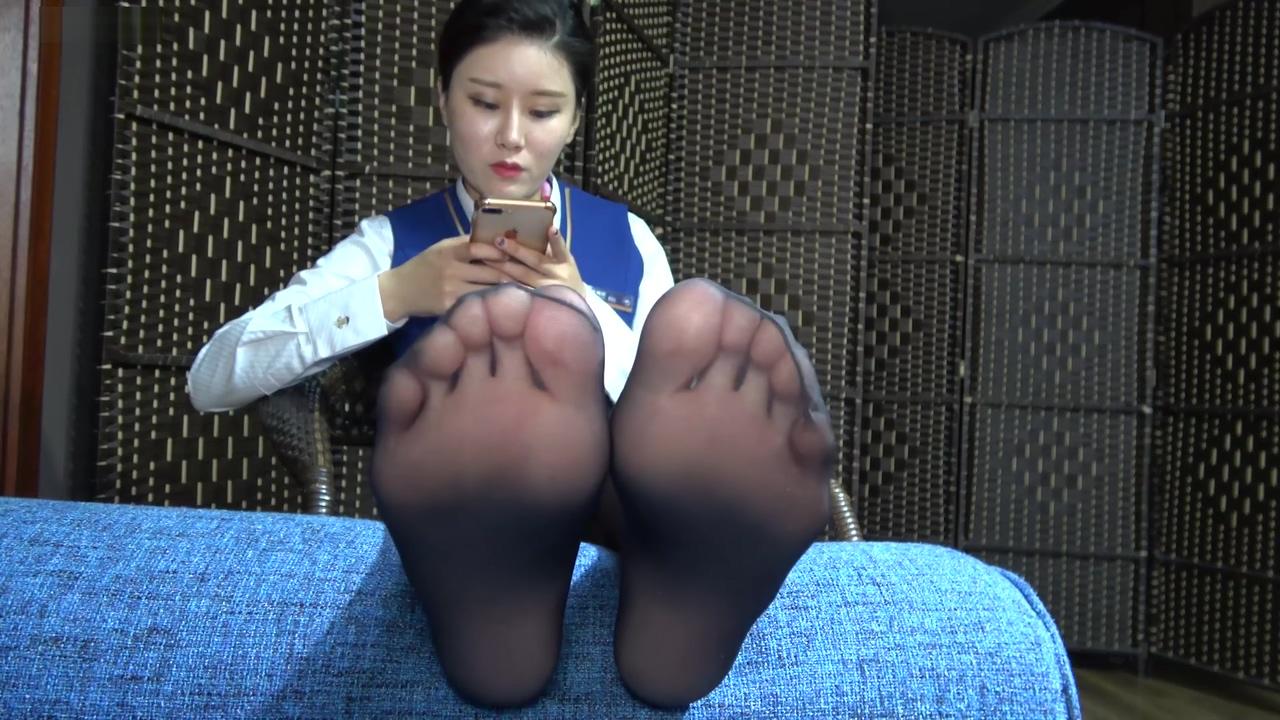 Sexy Asian Pantyhose Feet Teen