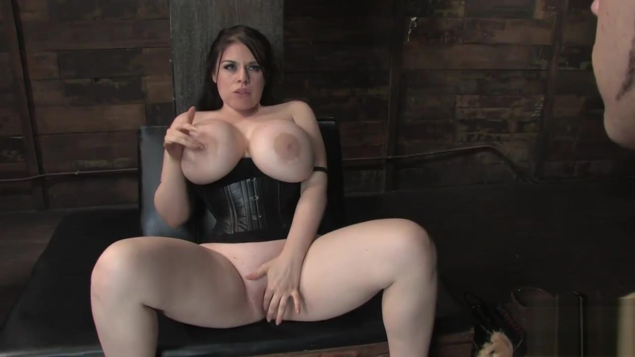 Daphne Rosen big tits femdom
