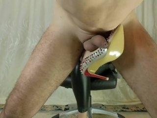 hard ballbusting cum