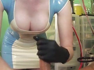 Latex Nurse at Work