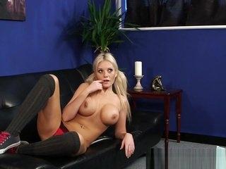 Kinky british femdom with big tits