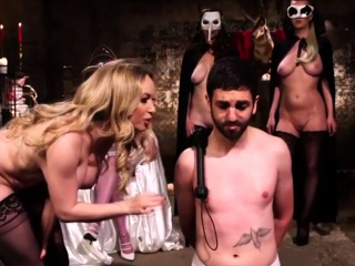 Four Dominas and a Lucky Slave