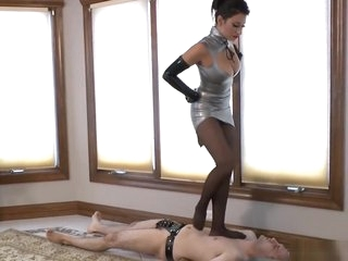 Goddess Tgent - Steel Stiletto session