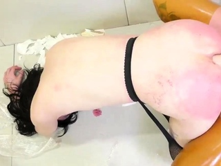 Bondage slave training anal first time This is our most