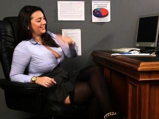 Cfnm office femdom boss