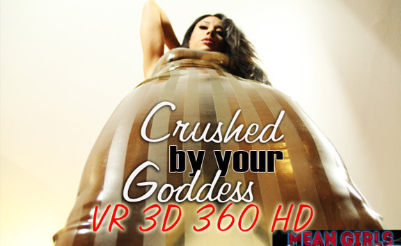 Mistress Tangent in Crushed By Your Goddess - MeanGirlsVR