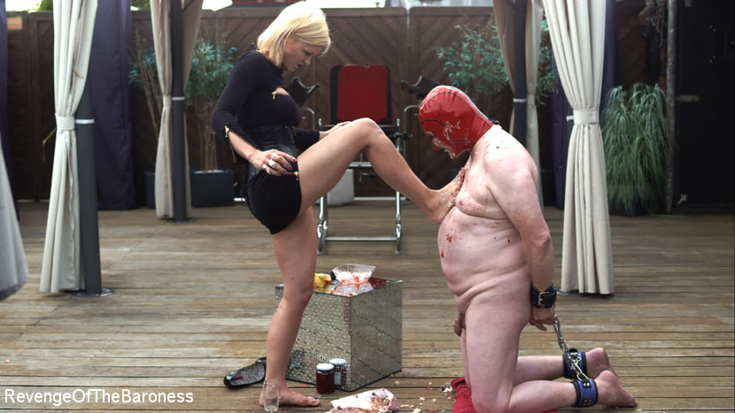 Ep 15 - Sploshing and Ballbusting: Humiliated by the Baroness - KINK