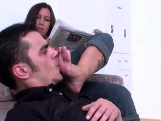 wanda want him worship her feet against his will