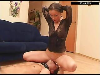Lustful Russian Julia brutal facesitting