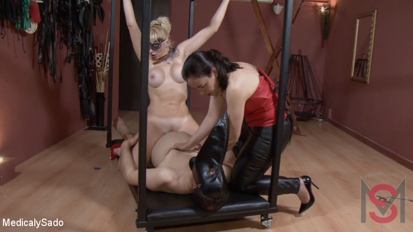 Patricia MedicalySado & Pou Fosc & Anna in Involuntary Sexual Labor - KINK