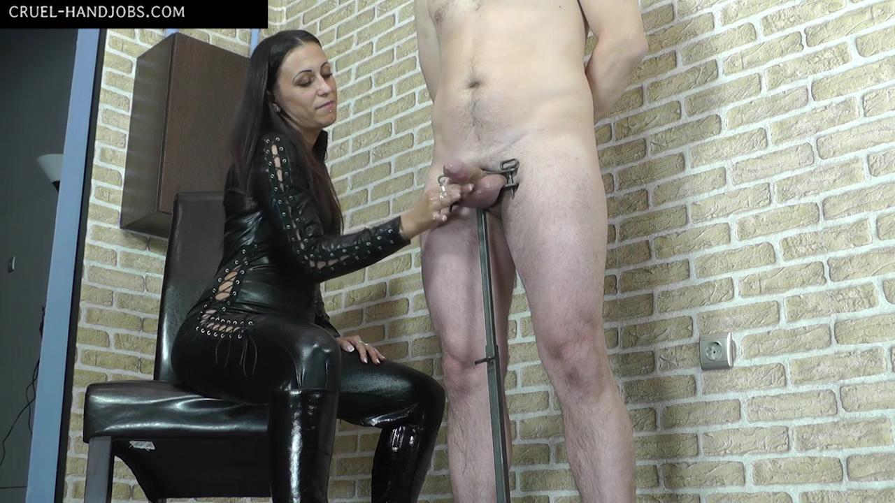 CruelHandjobs - Extreme huge orgasm