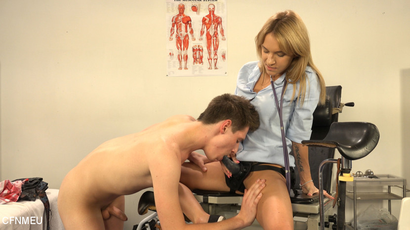 Mirek Madl & Dominantni Sestra in Medical Check Up: Milan Pokorny - KINK