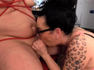 cruel german mature Lady want his cock