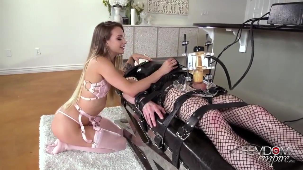 Mistress Naomi Swann Machine Milked