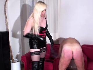 slave trotti get hard spanking by bizarrlady jessica