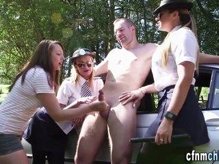 Uniformed fetish five oh