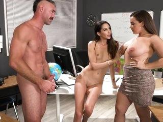 Natalia Nix - Curvy Big Booty Mistress Gets Fucked Hard