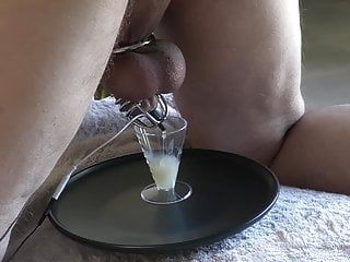 Wife Milks Massive Sperm Load From Husband's prostate