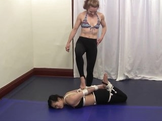 Veve Vs Kaya Lin - Lesbian Bondage Porn
