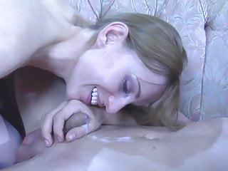 strapon eat your cum