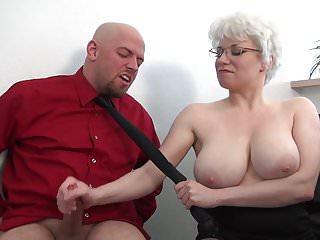 milf huge tits handjob